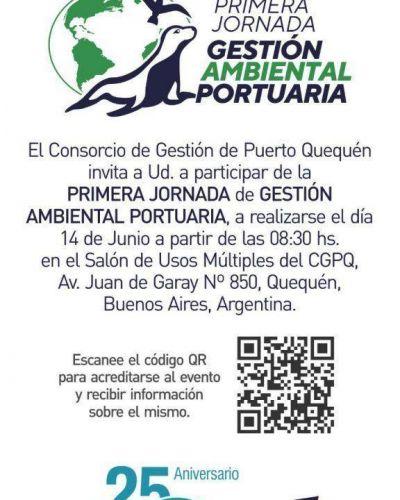 Primera Jornada de Gestión Ambiental Portuaria en Puerto Quequé