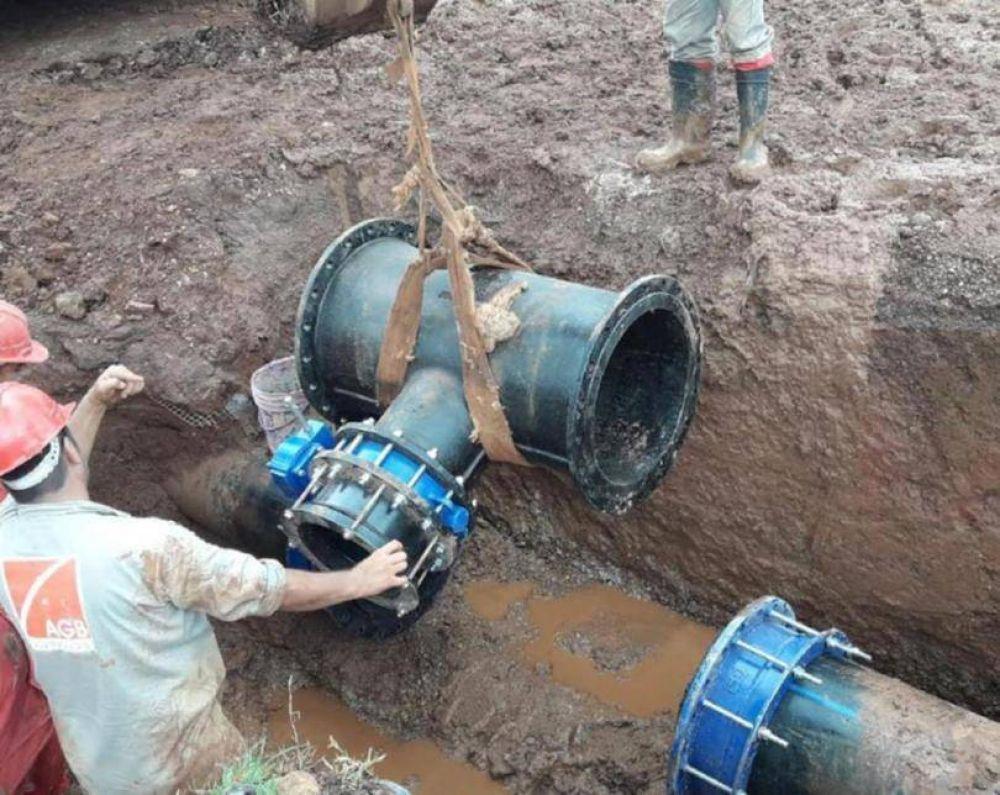 Trabajan en el acueducto de zona sur y recomiendan cuidar el agua