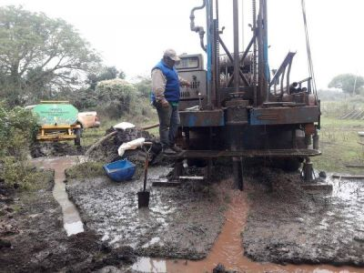 Agua potable para un barrio de Curuzú Cuatiá