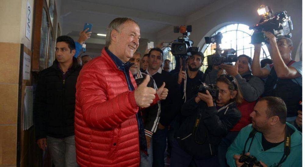 El regreso del gobernador a la provincia