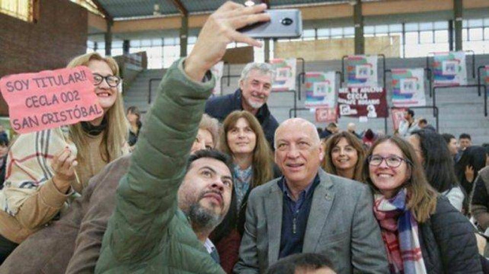 Bonfatti resaltó el rol de los docentes