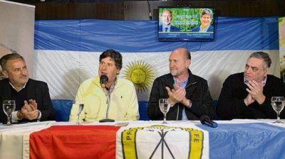Perotti visitó Funes y se reunió con el candidato a intendente Santacroce