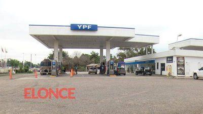 Joven baleada en asalto a YPF: