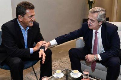 Alberto Fernández y Sergio Massa saldrán de campaña juntos y formarán un interbloque en el Congreso
