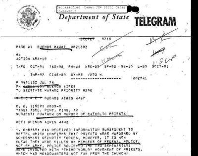 Documentos desclasificados: el nuncio Pío Laghi creía que los militares se proponían