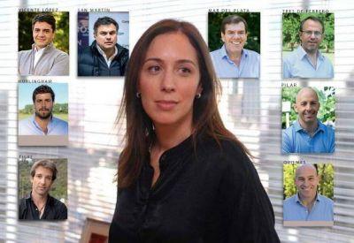 Quiénes son los barones de María Eugenia Vidal