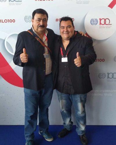 El Sindicato de Vendedores Ambulantes presente en la Conferencia de la OIT