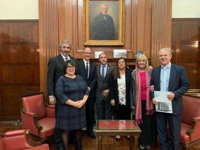 Abogados del Estado firmaron un convenio de cooperación con la UBA