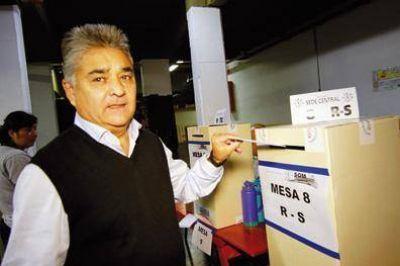 Oscar Rojas fue reelecto como Secretario general del SOMRA