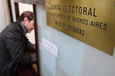 Seis frentes electorales se anotaron en la Provincia