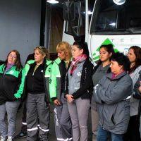Miguel Forte reivindicó y celebró la incorporación de mujeres a la Recolección de Residuos