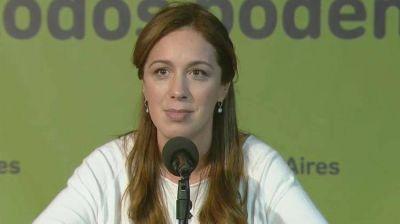 María Eugenia Vidal no pudo sumar refuerzos en el cierre de alianzas y se prepara para la pelea más difícil