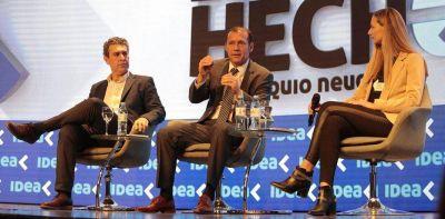 """Gutiérrez: """"Estamos haciendo realidad el tremendo potencial de Vaca Muerta"""""""