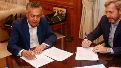 Frigerio le destrabó a Cornejo los USD 1.023 millones para la represa Portezuelo