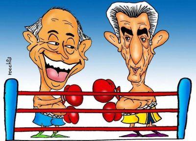 San Luis: Alberto noqueó a Adolfo y lleva ventaja en la pelea por la reelección