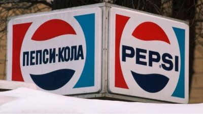 Pepsi a cambio de barcos de guerra soviéticos