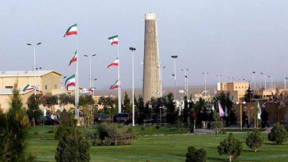 Irán anunció que en 10 días superará el límite de uranio establecido por el acuerdo nuclear