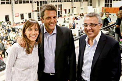 Tigre: Malena Galmarini, detonante de la fractura entre Massa y Zamora