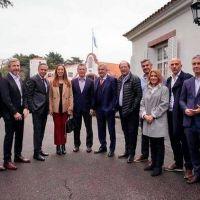 Vidal recibe a Pichetto para empezar a coordinar una estrategia de campaña en la provincia