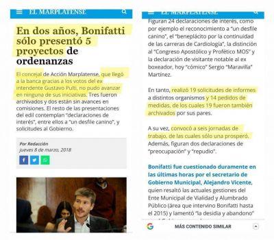 Lavagna en Mar del Plata con Bonifatti: mayor venta de pescado podrido