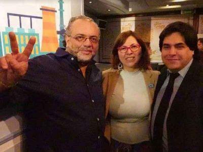 Gómez con Silvia Batakis