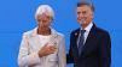 Gobierno, a la espera de guiño del FMI
