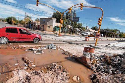 El Municipio de Neuquén intimó al EPAS por las pérdidas de agua