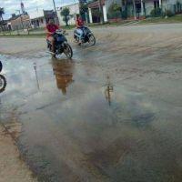 Vecinos denuncian que Sameep derrocha agua potable en San Martin