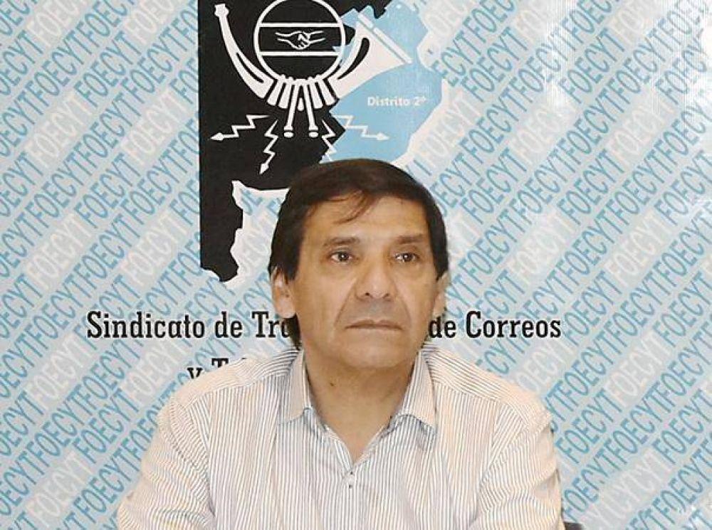 Jorge Váttimo dio a conocer el aumento salarial logrado por los trabajadores del Correo
