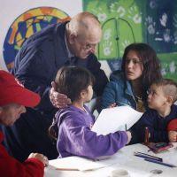 Temporal: el intendente Arroyo visitó a los evacuados en el CIC Malvinas