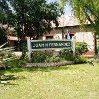 Juan N. Fernández, una de las pocas localidades del país que no sufrió el apagón