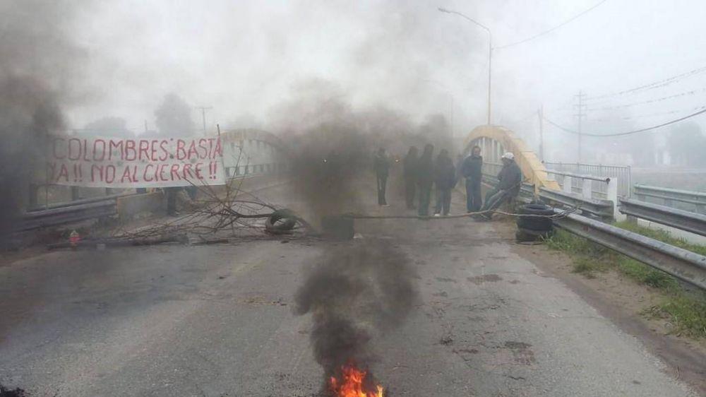Azucareros volvieron a cortar la ruta 38 en protesta por sueldos adeudados y sigue la incertidumbre por sus 450 empleos