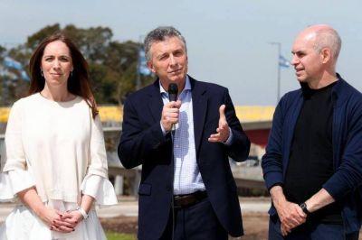 Macri, con Larreta y Mariu: el binomio PRO para levantar la imagen del Presidente