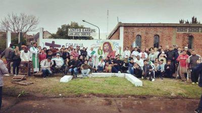 Mons. García inauguró el Centro Barrial San José Obrero