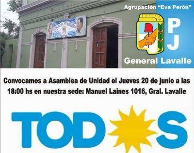En el peronismo de General Lavalle, la UNIDAD, no es con TODOS