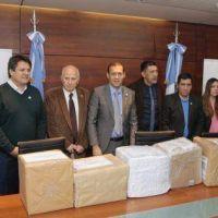 """Presentaron ofertas para la construcción de la microcentral hidroeléctrica """"Ingeniero Pedro Salvatori"""""""