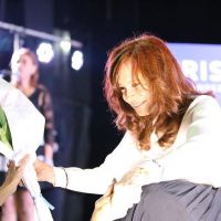 Fuerte presencia gremial en la presentación del libro de CFK en Rosario