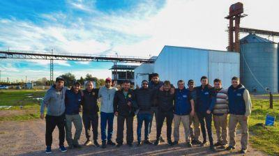 Tras 16 meses de conflicto se reactiva la planta de la Oleaginosa Huanguelén