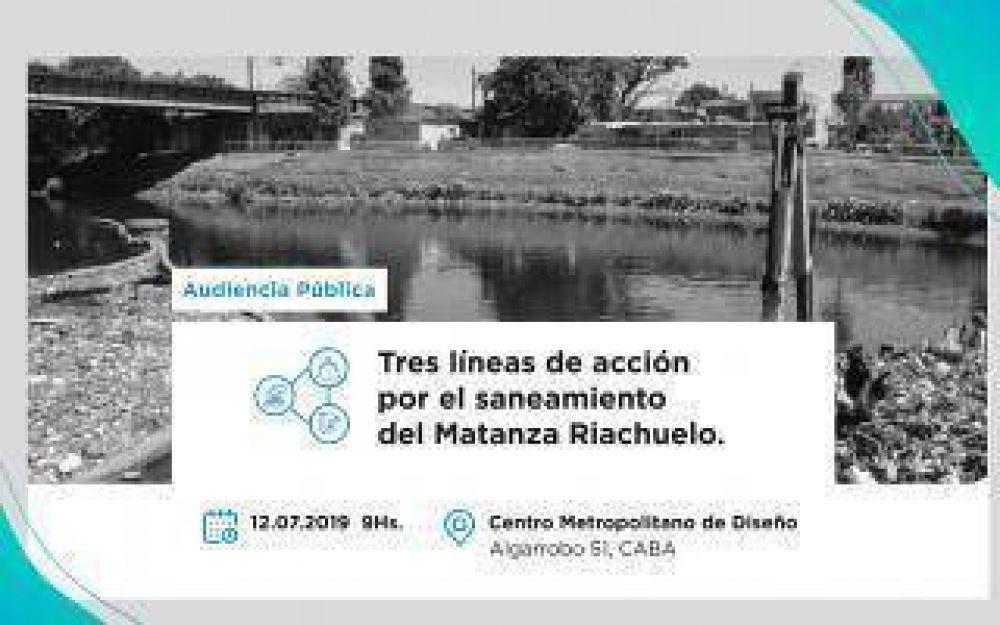 Cuenca Matanza Riachuelo: Nueva audiencia pública para debatir sobre el saneamiento