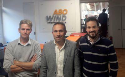El municipio y ABO Wind Energías Renovables avanzan en proyecto de parque eólico