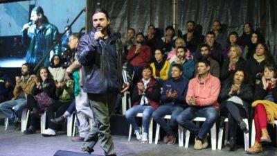 Arrizabalaga participó del lanzamiento del Frente Patria Grande en la Provincia
