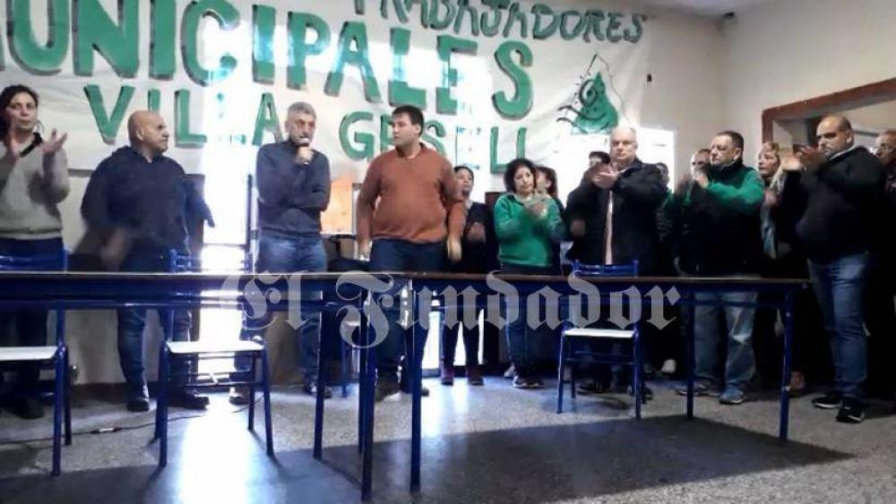 Barrera confirmó que Cristian Angelini encabezará la lista de concejales del Frente de Todos
