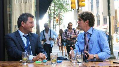 Massa y Lousteau se refugian en el Congreso para preparar su carrera presidencial 2023