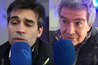 Acuerdo entre el intendente López y el presidente del PJ, Rivero