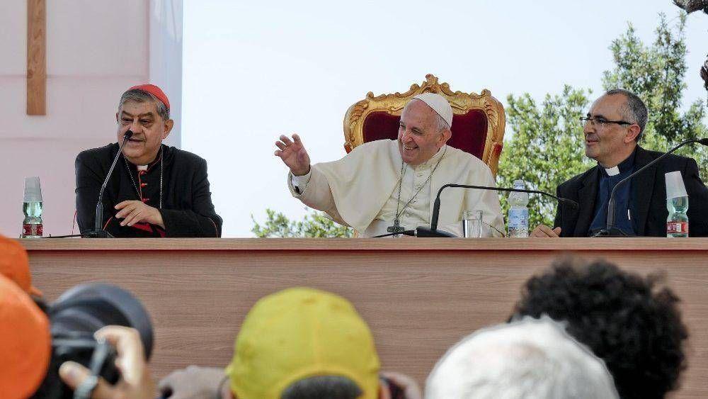 """El Papa delinea los """"criterios evangélicos"""" para una teología de la acogida"""