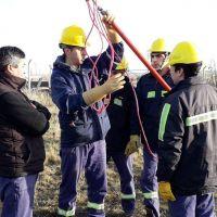Luz y Fuerza capacitó sobre prevención de riesgos en el trabajo