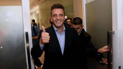 Quiénes acompañarán a Sergio Massa en la lista de candidatos a diputados nacionales