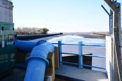 Trabajo programado sobre la red de agua en la zona norte de la ciudad de La Plata