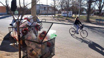 Vecinos reclaman que Plottier separe basura domiciliaria