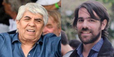 Sorpresivo apoyo de Del Caño a Moyano, tras el ataque de Macri